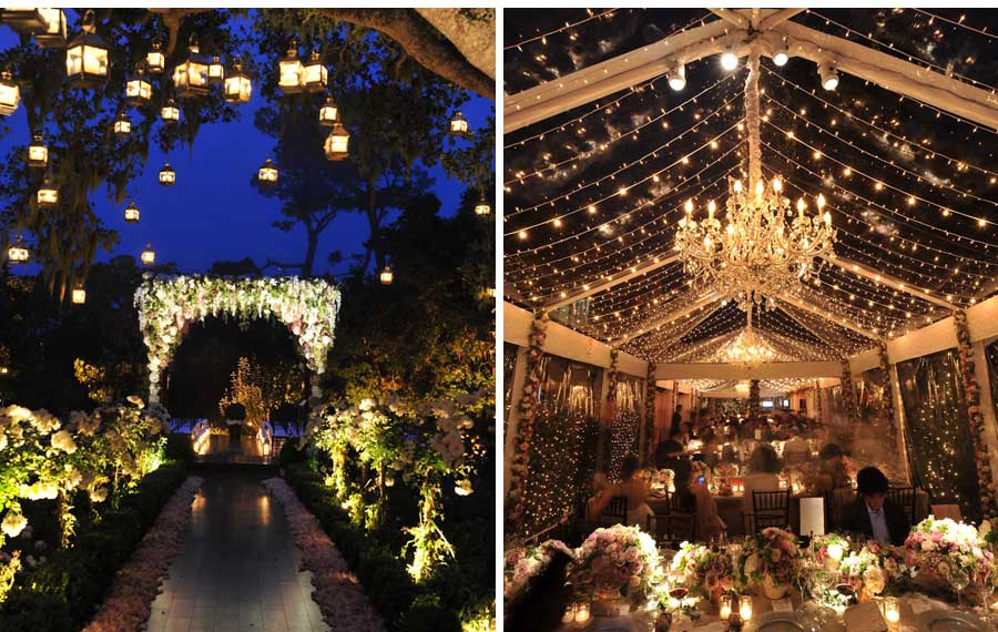 The magnificence of the lindberg house ceci new york and for Carmel by the sea wedding