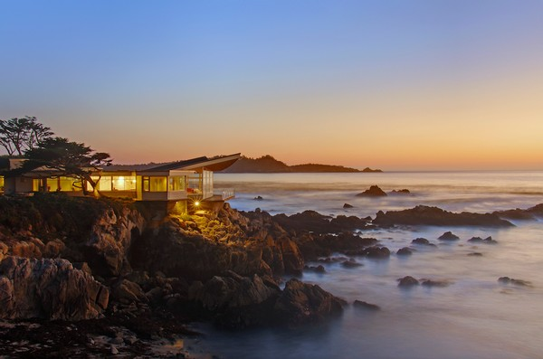Frank Lloyd Wright House In Carmel California